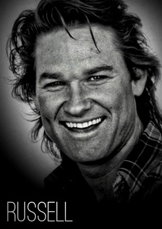 Kurt Russell. have had a crush on him.....always. Started when I was 13.