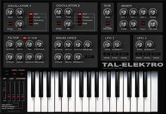 More Free VST Synthesizer Plugins by TAL | ProducerSpot http://www.producerspot.com/download-more-free-vst-synthesizer-plugins-by-tal