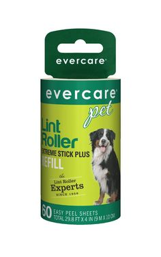 eda87a47089 Evercare Pet Hair Extra Sticky 60 Layer Lint Roller Refill