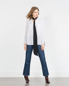 ZARA - WOMAN - OVERSIZE SHIRT