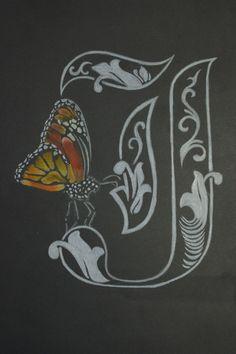 Ilustración sobre cartulina, técnica lapices de color.