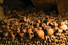 Exploring the ancient Catacombs of Paris - the world's largest underground cemetery