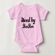 Loved By Mommom Gift Shirt