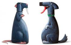 Sculptures-de-personnages-avec-des-objets-du-quotidien-par-gilbert-legrand-13