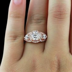 YES! This ring is amazing in Rose Gold!