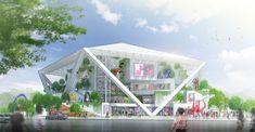 Shigeru Ban vence concurso para projetar o Museu de Belas Artes em Tainan