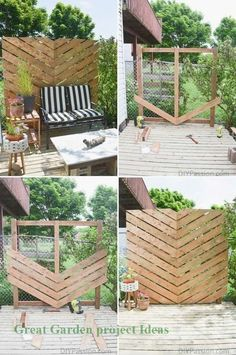 Worth trying 10 DIY Backyard Privacy Screen ideas for you. They are listed neatly, beautiful, organized, and features 10 DIY Backyard Privacy Screen ideas incude a video That you can take to upgrade your backyard or garden privacy. Next, You'll also find Backyard Privacy Screen, Privacy Landscaping, Backyard Fences, Privacy Screens, Patio Fence, Landscaping Ideas, Backyard Planters, Balcony Garden, Patio Wall