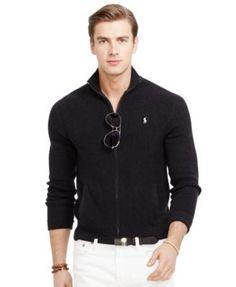 Polo Ralph Lauren Lightweight Full-Zip Sweater