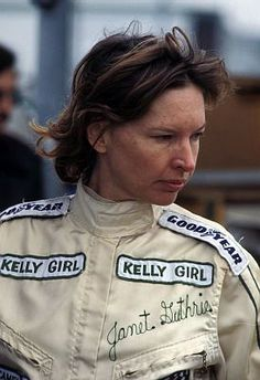 This Day In Indianapolis 500 History: 1977 - Rookie Janet Guthrie set the fastest time on opening day of practice for the Indianapolis 500. Her time was 185.607. keepinitrealsports.tumblr.com keepinitrealsports.wordpress.com