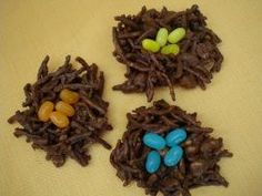 edible acorn craft | Mini Bird Nests. These are an easy edible spring craft for ...