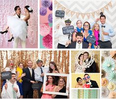 Who wouldn't love a fun photo booth take away as a favor!