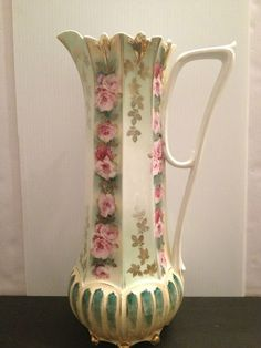 121 Best Vintage Vase Pitcher Amp Water Basin Images In 2013