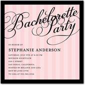 Bachelorette Party:Soft Pink