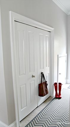 This post shows how it is possible to turn bi-fold doors into French doors in order to get some more additional space in a closet, laundry area, or pantry.