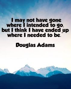 FAV Quote of all time.  Douglas Adams - Dirk Gently's Dark Teatime of the Soul