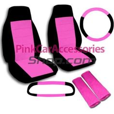Pink Car Accessories | Girly Car Accessories