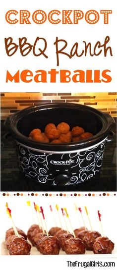 Recipe Chicken Fried Rice - How to Cook Chicken Fried Rice Ultimate Crockpot Bbq Ranch Meatballs Recipe From The Perfect Easy Slow Cooker Party Appetizers Ridiculously Simple And Outrageously Delicious Slow Cooker Recipes, Crockpot Recipes, Cooking Recipes, Crockpot Dishes, Easy Crockpot Meatballs, Bo Bun, Bbq, Meatball Recipes, Slow Cooking