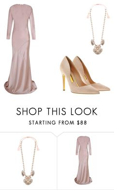 """""""Jolie Love"""" by lahovis ❤ liked on Polyvore featuring Chloe + Isabel, The 2nd Skin Co. and Rupert Sanderson"""