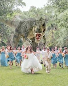 And Josh desperately wants to do this... 30 Greatest Movie Themed Weddings