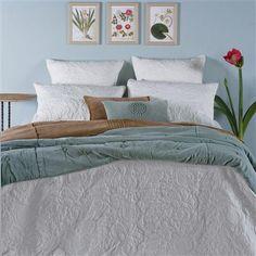 Bianca Lorenne Pomegranate Super King Bedspread