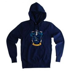 ravenclaw harry potter navy blue color Hoodies size S to XXL Unisex adult, designs are screen printed by hand and are high quality prints