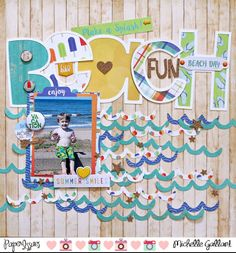 Paper Issues: Product Spotlight: Carta Bella Beach Day @mmgallant