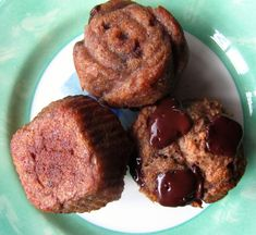 AIP Carob Chunk Banana Muffins