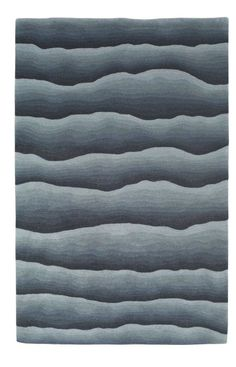 JLA Rugs Lifestyles Waves Blue Contemporary Rug - - Small Rugs (Length to - Area Rugs by Size - Area Rugs Carpet Flooring, Rugs On Carpet, Fabric Rug, Interior Rugs, Magic Carpet, Patterned Carpet, Carpet Design, Contemporary Rugs, Textile Patterns