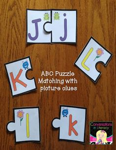 Learning My ABCs$-Capitals and Lower case letter learning activities!