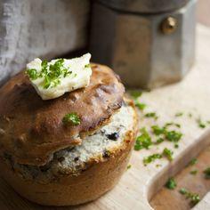 The Single Serving Mushroom Muffin – Super Easy