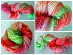 Hand dyed 100% Merino Worsted TreLiz color: SPRING via Etsy NOW10 coupon..! gives you 10% off...ONLY TODAY