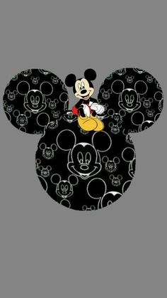 Pin by nóra szita on mickey mickey mouse wallpaper, disney wallpaper, wallp Arte Do Mickey Mouse, Mickey Love, Mickey Mouse And Friends, Disney Mickey Mouse, Mickey Head, Mickey Mouse Wallpaper Iphone, Cute Disney Wallpaper, Iphone Wallpaper, Walt Disney