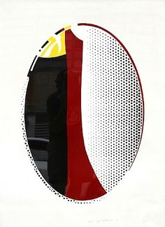 Roy Lichtenstein: Mirror #6