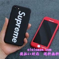 欧米 シュプリーム supreme iPhone7 plus ケース カップル ブランド アイフォン8 ケース お洒落
