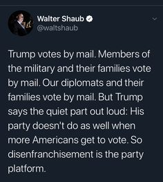 True, but it's not just the Republicans. The Democratic establishment (Joe Biden) is also against postponing voting. Book Quotes, Life Quotes, Reality Check, Patriarchy, Social Issues, Enough Is Enough, Social Justice, Picture Quotes, Feminism