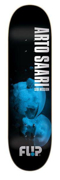 Flip Skateboards Saari Side Mission Three