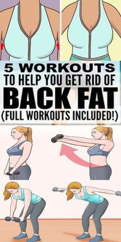 """Many people struggle to get rid of their upper back fat, also known as """"bra fat"""" or """"bra bulge"""". Here are a number of simple exercises that will allow you to tone your upper back muscles, get the more defined look and help you to banish bra fat. Fitness Workouts, Easy Workouts, Workout Routines, Upper Back Muscles, Dumbbell Fly, Back Fat, Lose Weight, Weight Loss, Reduce Weight"""