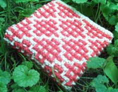 knitted dishcloth pattern