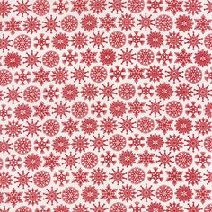 Folk Art Holiday by Gina Martin for Moda. Poppy #10023 18 Sale is for 1 yard. Multiple yards available, please inquire. International sales are