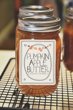 Making and Canning Homemade Pumpkin Apple Butter by Adventures of a Mamarazzi - *Pumpkin shouldn't be canned & stored - make and enjoy now!