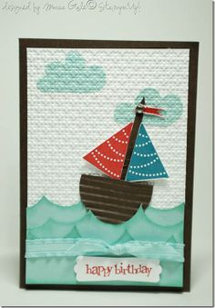 boat using pennant stamp