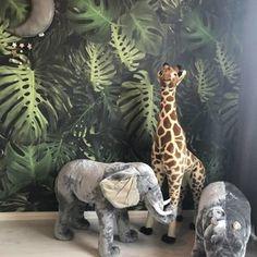 Giant hug elephant from childhome - Giant cuddly elephant from childhome – Small and Tough - Jungle Theme Rooms, Jungle Baby Room, Jungle Bedroom, Jungle Nursery, Boys Room Design, Boys Room Decor, Girl Room, Baby Nursery Furniture, Baby Nursery Decor