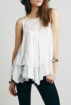 Lovely Clusters Boutique: Strappy Candy Ruffle Tank