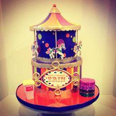 Children's Birthday Cakes - Carousel Carnival Cake!