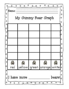 Gummy Bear Sort and Graph