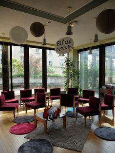 La BU'lle détente de la bibliothèque universitaire - UCO, Angers - Photo MNC