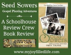 Seed Sowers: Gospel Planting Adventures book review