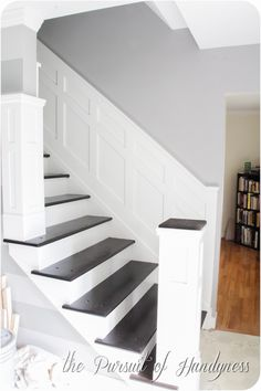 Staircase Makeover: How To Install Molding | Staircase Makeover, Moldings  And Staircases