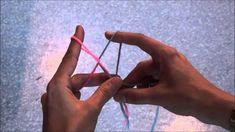 NÄPUTÖÖ - näpunööri punumine (kahevärviline)