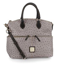 Dooney and Bourke OstrichEmbossed Pocket Satchel  Dillards Dooney Bourke bb2935b972e53
